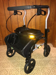 Xpresso folding walker with basket in good condition