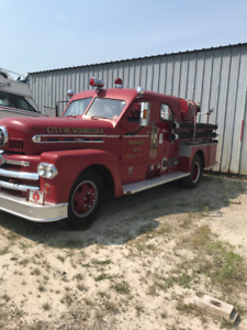 1957 King Seagrave Antique Fire Truck