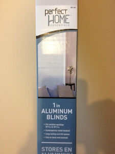 White Aluminum Mini-Blinds