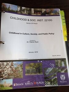 Childhood in Culture, Society, and Public Policy London Ontario image 1