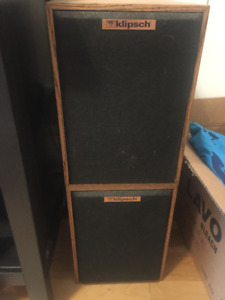 Vintage Klipsch KG 1 Bookshelf Speakers