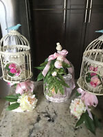 Bird Cage Centerpieces  Rent for 11.00