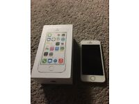White iPhone 5s 16g