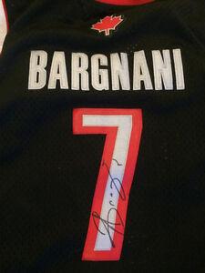 Andreas Bargnani Autographed Toronto Raptors Jersey