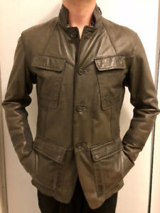DANIER LEATHER THINSULATE TECHNOLOGY JACKET SIZE SMALL - So Warm