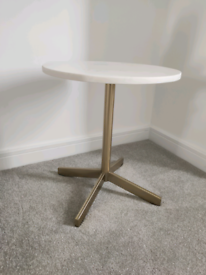 Marble Gold Side Table