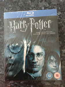 Harry Potter 8 film Blu-ray Collection