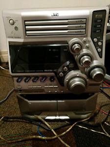 JVC Multi-CD Stereo System