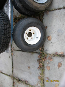 Tires and rims some for trailer Strathcona County Edmonton Area image 4