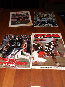 CFL CARDS -- CFL MAGAZINES & NFL CARDS Cornwall Ontario image 10