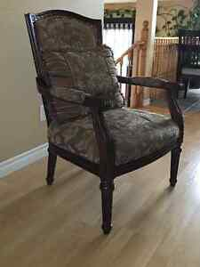 Casual Chair with cushion, great condition