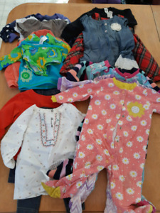 Baby Girl Clothes- 12 months