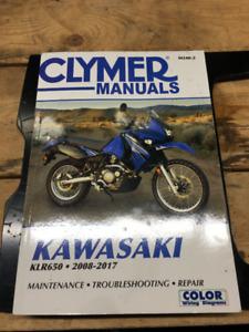 KLR 650 Clymer manual 2008 - 2017