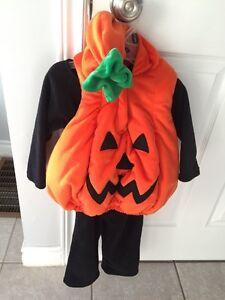 Pumpkin Costume Toddler Size 18 - 24 months