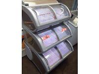 Ice cream freezer/ display freezer 3 tier