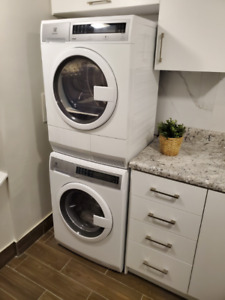 """Electrolux 24"""" inch Stackable Washer & Dryer - Like New"""