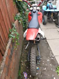 140cc big wheel pit bike