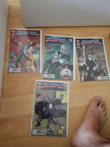 Deadpool back in black issues 2-5