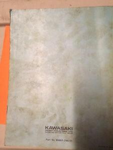 Kawasaki KZ750 Motorcycle Shop Manual Regina Regina Area image 4