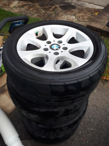 BMW rims and tires - summer