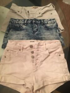 3 SUMMER SHORTS SIZE 0. $10 FOR ALL