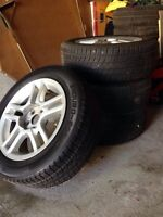"""15"""" - 5x100 - Toyota Celica Alloy Rims with tire"""