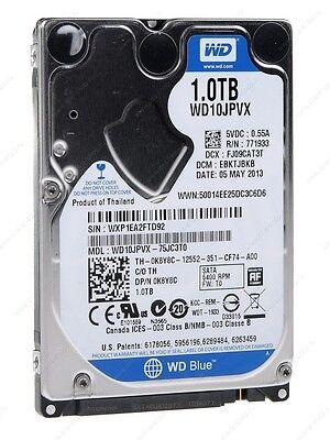 """New Western Digital Blue 1TB SATA 2.5"""" Laptop Hard drive HDD 5400 RPM WD10JPVX"""