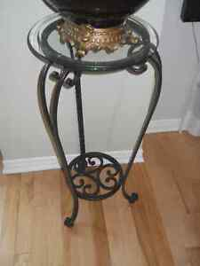 Bombay accent table.