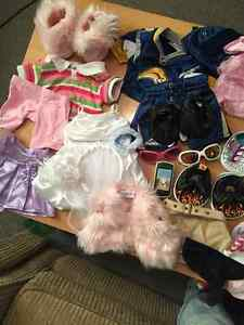 Lot of Build a Bear clothing for sale