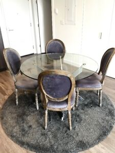 Structube Dining Room Table Chairs