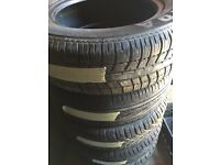 225/45/17 partworn tyres fitted £25