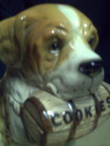 St bernard cookie jar with pups Peterborough Peterborough Area image 2