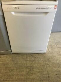 Plain white full size Dishwasher from currys