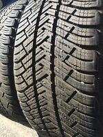 4 Pneus dhiver 235/40/19 Michelin alpin pa4 excellent état