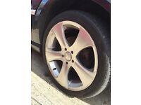 """18"""" Khan alloys Vauxhall vectra Astra 5x110"""
