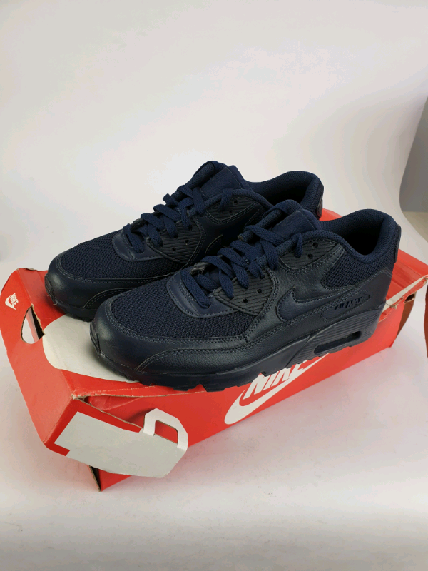 Nike Air Max 90 Mesh Junior Trainers kids shoes Navy | in Great Barr, West Midlands | Gumtree