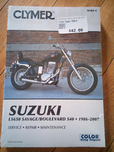 Clymer Manual - Suzuki Savage / Boulevard / S40