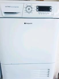 Hotpoint 7 kg condenser dryer been serviced free delivery