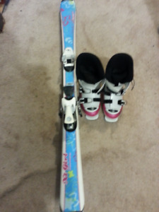 Rossignol boots and Techno skis