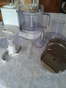 Braun Food Processor