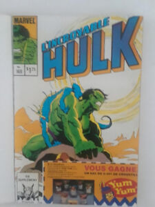 Hulk, Spider Man,  les Transformers, français, comic, 1984-1985
