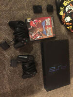 Playstation 2 + various games