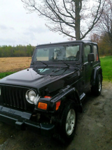 LOOKING FOR JEEP TJ FOR PARTS-REPAIRS / RECHERCHE JEEP