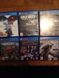 PS4 GAMES CHEAP QUICK SALE !