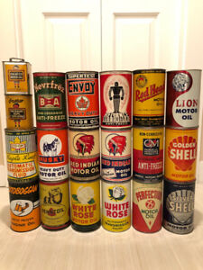 WANTED - Oil and Gas Cans  and Advertising