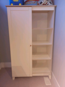 Nursery wardrobe and changing table