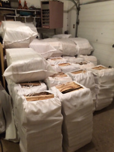 ***DRY Firewood Bags **Birch $35  **Pine $25   CALL NOW !!   ***