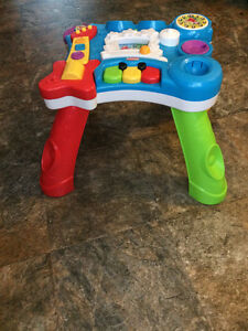 2 In 1 Activity Table -Batteries Included,Unisex,Legs come off