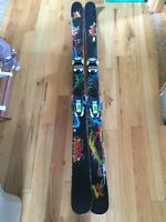 161cm Volkl Ledge with Marker Squire bindings