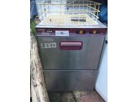 Maidaid D50 glass washer stainless steel
